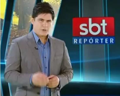 César Filho fará com maior frequência reportagens externas para o SBT Repórter