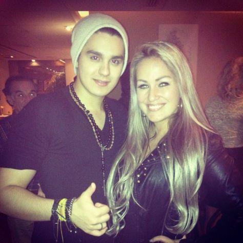 Ísis Gomes e Luan Santana