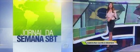 """Cenário do """"Jornal da Semana"""""""