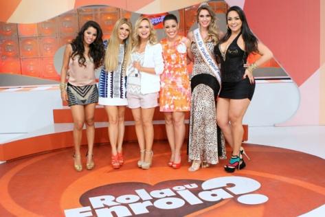 Rola ou Enrola apresentou uma versão com famosas em janeiro deste ano