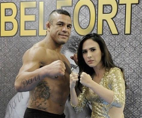 Valdirene ataca Vitor Belfort em Amor à Vida