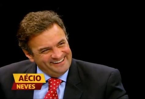 """Aécio Neves participa do """"Dois dedos de prosa"""""""