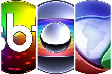SBT e Globo sobem, Record é a unica que apresenta queda em abril
