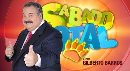 Gilberto Barros apresenta Sábado Total na RedeTV!
