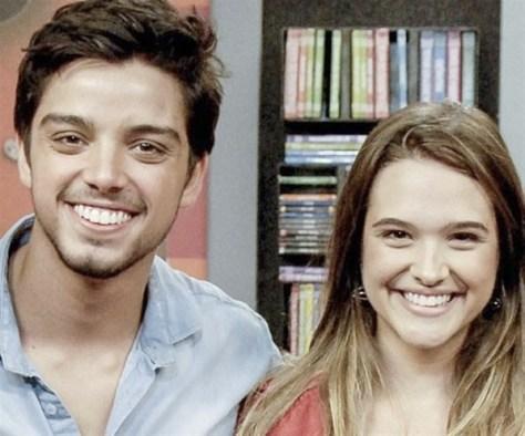 Juliana Paiva e Rodrigo Simas voltam a trabalhar juntos