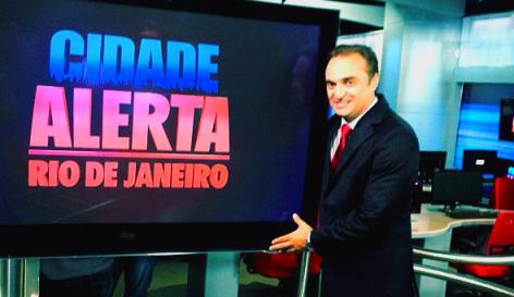 Cidade Alerta Rio tem crescimento de 65% de audiência