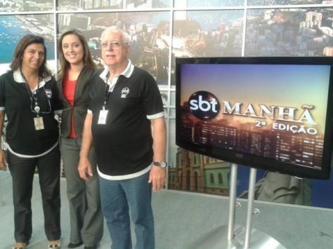 SBT Manhã ganha versão local no Rio de Janeiro