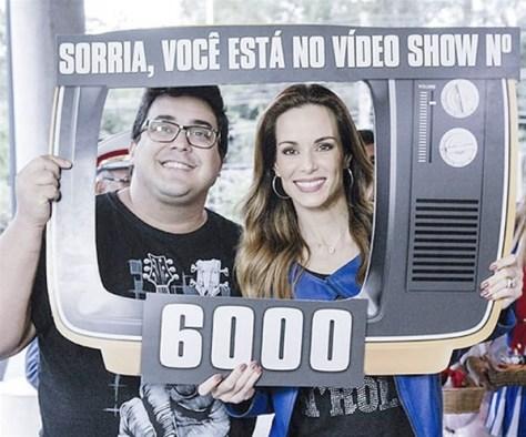 Vídeo Show atinge a marca de 6 mil programas no ar