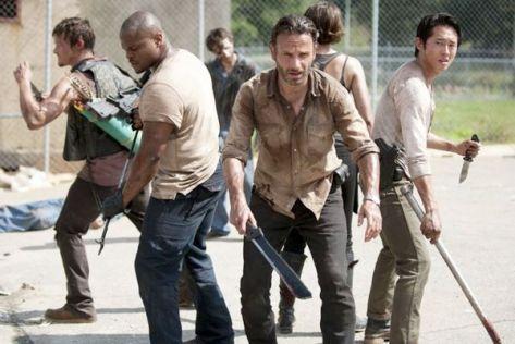 The Walking Dead é renovada para a quinta temporada