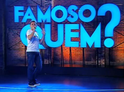 """Covers de Shakira e Ney Matogrosso se apresentam no palco do """"Famoso Quem?"""""""