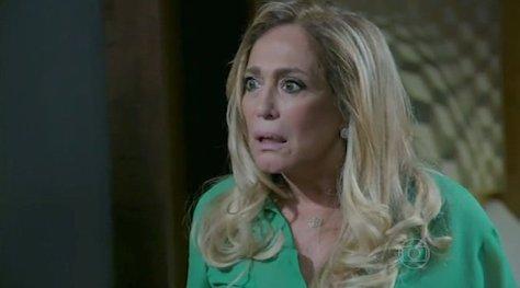 Pilar fica horrorizada com Félix em Amor à Vida