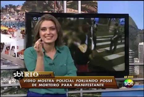 Liane Borges comanda o SBT Rio Manhã