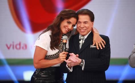 Silvio Santos quer ver Ivete Sangalo mais presente no SBT