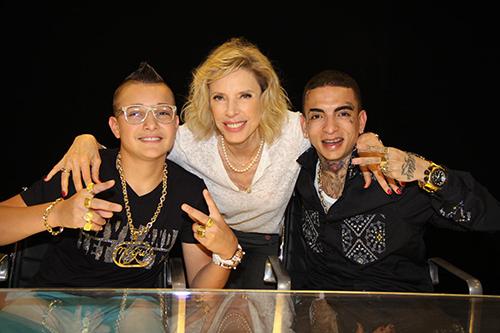 Marília Gabriela entrevista MC Gui e MC Guimê