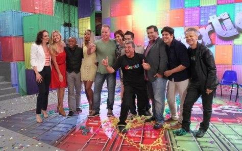 "Globo apresenta programa ""Divertics"" á imprensa"