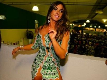 Nicole Bahls deixa o posto de Rainha de Bateria da Império Serrano