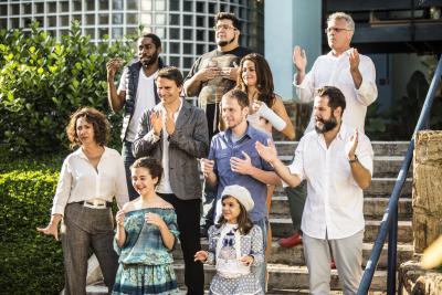 Movimentos corporais farão o som da campanha de fim de ano da Globo