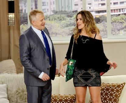 "Ingrid Guimarães participa do segundo episódio do ""Sai de Baixo"""