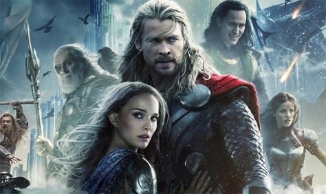 """""""Thor: O Mundo Sombrio"""" estreia liderando nas bilheterias do Brasil"""