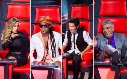 Lulu Santos, Carlinhos Brown, Daniel e Cláudia Leitte estão confirmados no juri técnico do The Voice Brasil