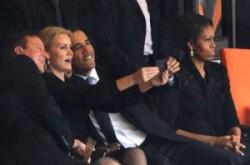 Domingo Espetacular mostra repercussão do autorretrato de Barack Obama ao lado da primeira-ministra da Dinamarca