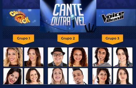"""Conheça os participantes que irão se apresentar no """"Cante Outra Vez"""""""
