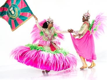 Manguera participa das gravações dos clipes do Carnaval 2014 da Globo