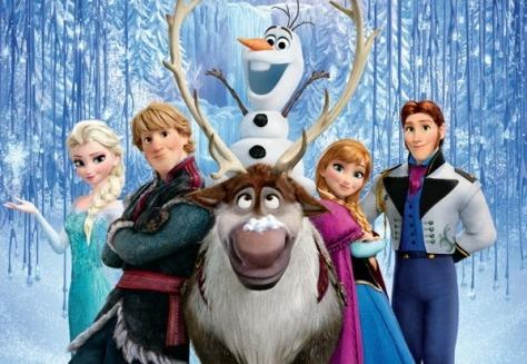 """""""Frozen: Uma Aventura Congelante"""" estreia na liderança nos Estados Unidos"""