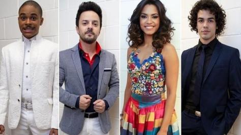 Lucy Alves, Pedro Lima, Sam Alves e Rubens Daniel são os finalistas do The Voice Brasil