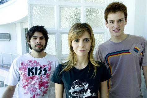 Teco, Lud e Felipe são os personagens principais da série Descolados