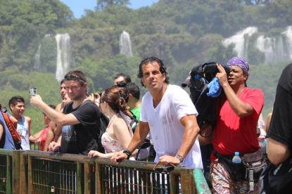 Álvaro Garnero visita Foz do Iguaçu e Usina de Itaipu