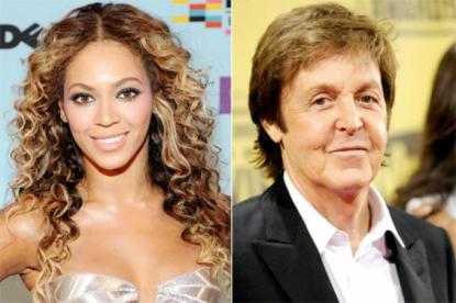 Paul McCartney e Beyoncé devem fazer shows no Brasil durante a Copa do Mundo