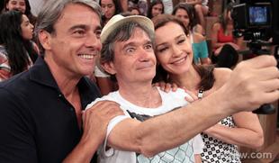 Serginho Groisman recebe Julia Lemmertz, Alexandre Borges e outros convidados