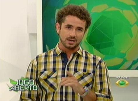 "Felipe Andreoli deve ser substituto de Renata Fan no ""Jogo Aberto"""