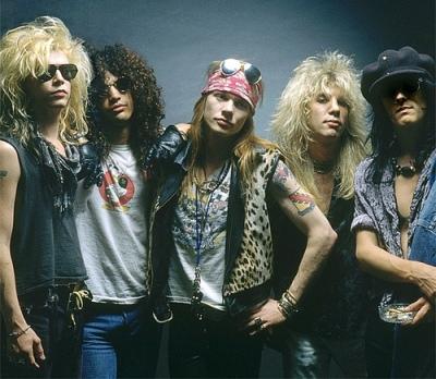 Banda Guns N´ Roses fará turnê no Brasil em 2014