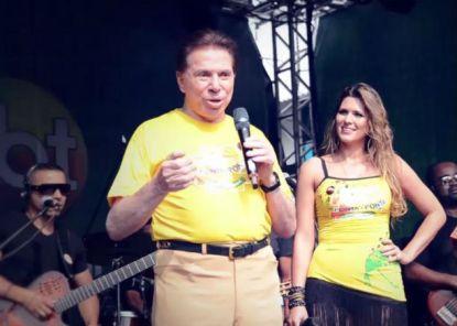 """""""Me sinto um colega de vocês"""" declara Silvio Santos para funcionários do SBT"""